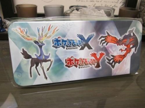 New Japan Import 2013 Xerneas Model Kits 3DS Pokemon X // Y Bonus Yveltal