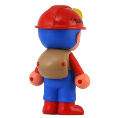 2008 New Factory Boxed Japan Import Toy Spelunker Dangerous Hero Sofubi Toy
