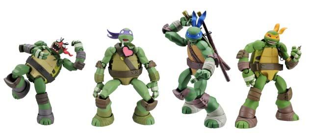 Ninja Turtles Toys : Tmnt teenage mutant ninja turtles revoltech figure