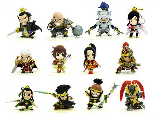Dynasty Warriors 6 Eiketsu Mini Figure Vol.1