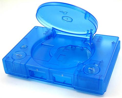 Playstation Replacement Shell [Blue]