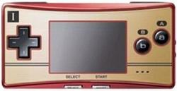 Gameboy Micro Famicom Version