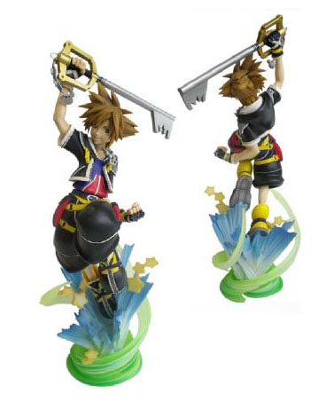 kingdom hearts sora. Static Arts: Kingdom Hearts 2
