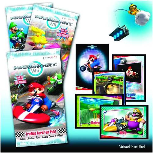Mario Kart Wii Trading Card Fun Packs
