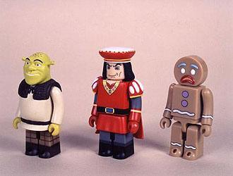 Shrek Kubrick Figure Set A
